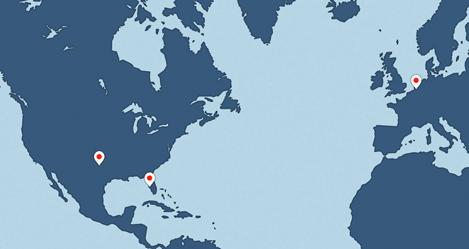 SSD Location Map